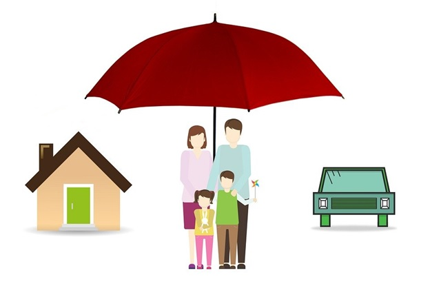Insurance, Family, Umbrella, House, Home, Car, Life